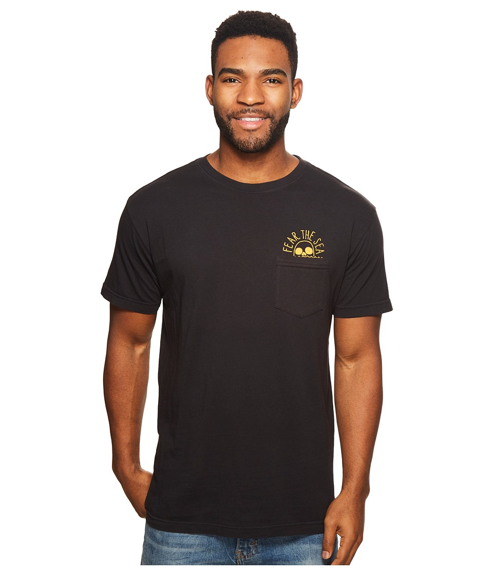 Roark - Fear The Sea Pocket Tee Shirt (Black) Mens T Shirt