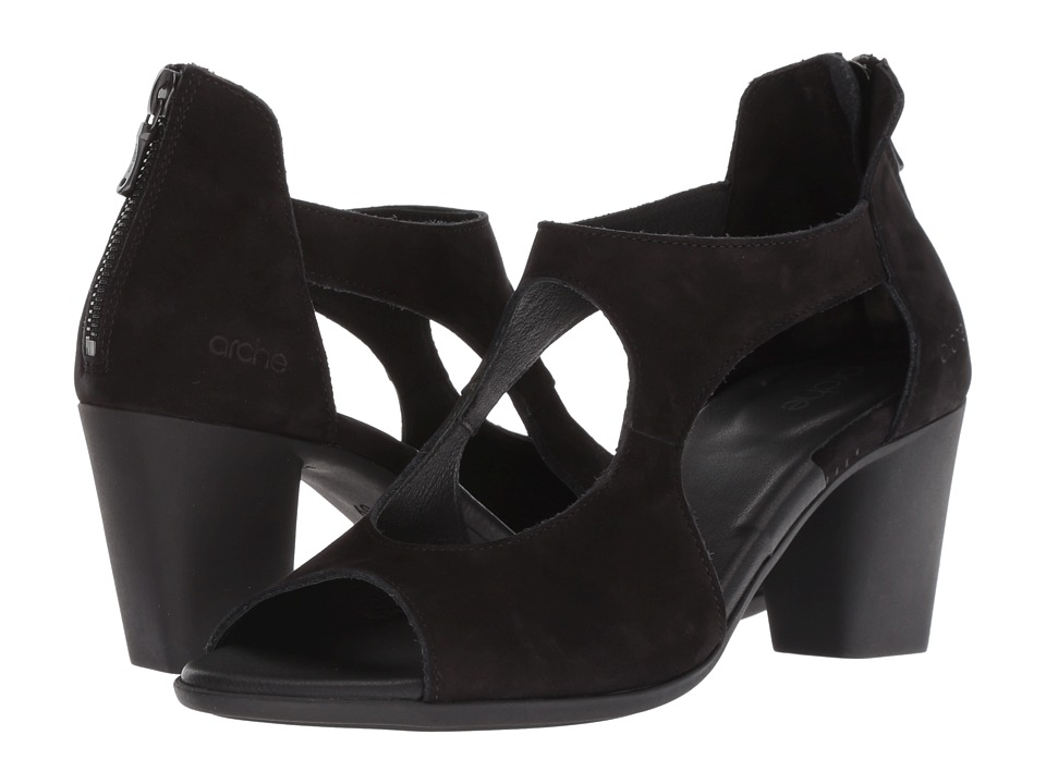 Arche Farako (Noir) Women's Shoes