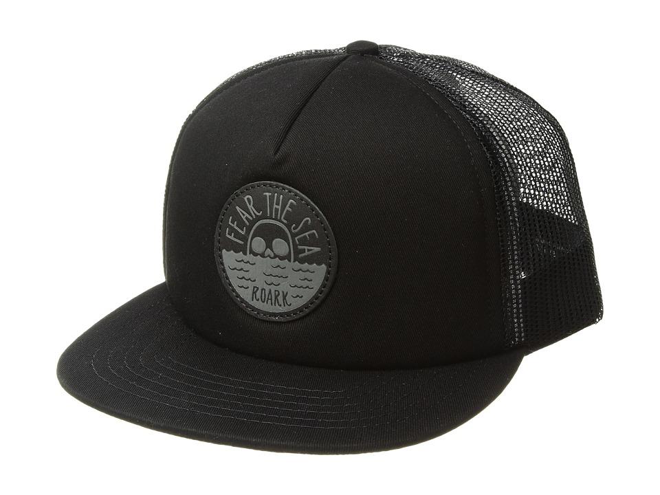Roark - Fear The Sea Trucker Hat (Black) Caps