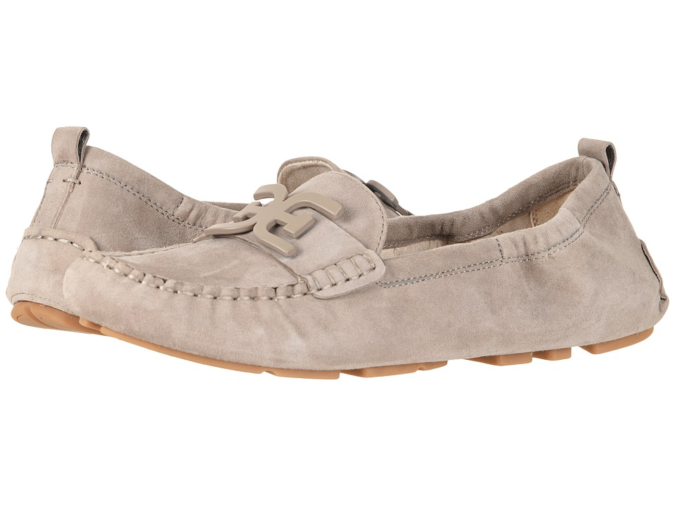 Sam Edelman Farrell (Putty Suede Mulberry Pink Kid Suede Leather) Women's Moccasins