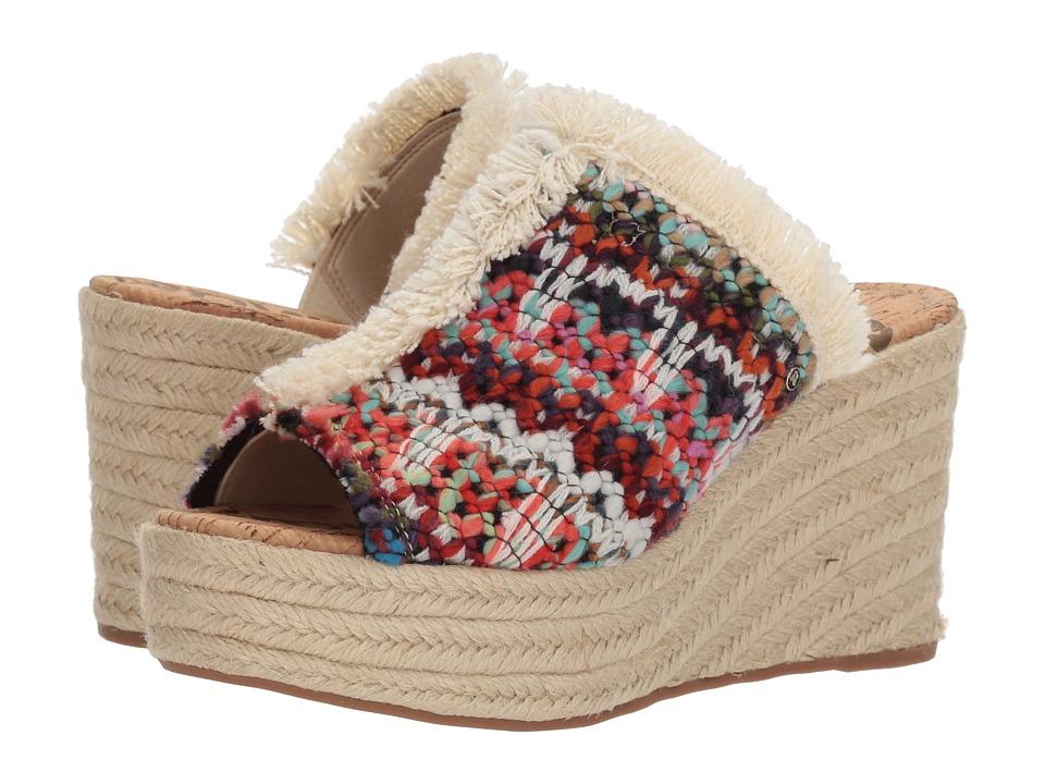 Sam Edelman - Dina 2 (Bright Multi Chevron Yarn Weave) Womens Shoes