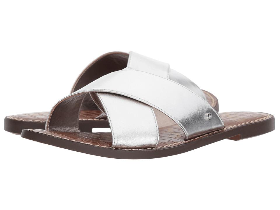 Sam Edelman - Gertrude (Silver Metallic Nappa Luva) Womens Shoes