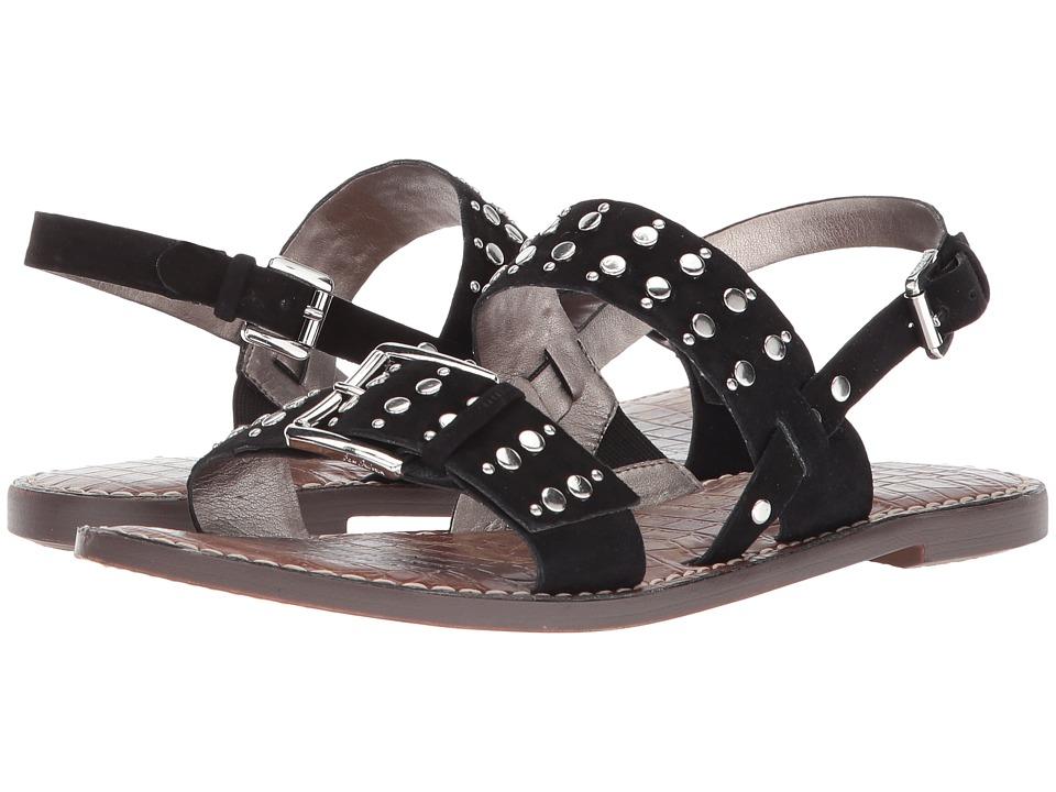 Sam Edelman - Glade (Black Kid Suede Leather) Womens Sandals