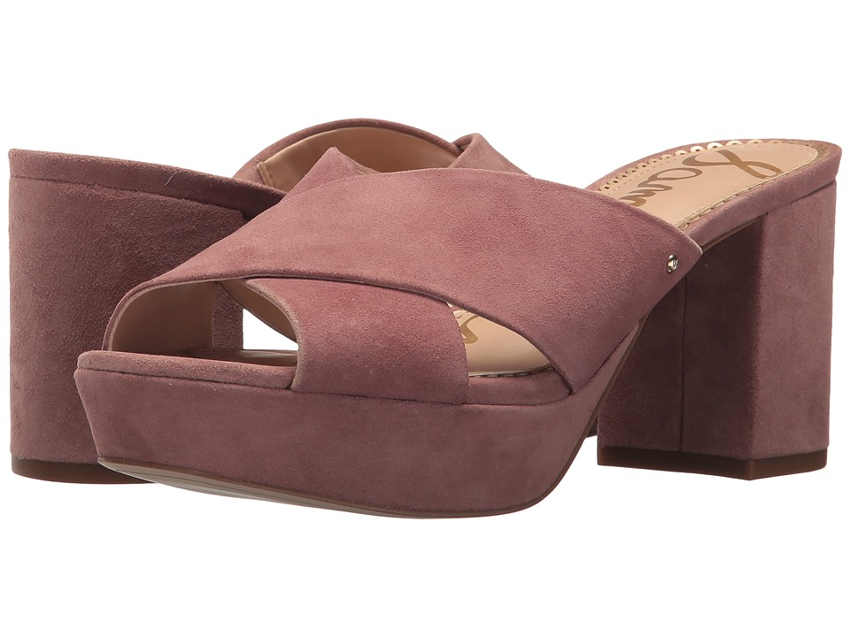 Sam Edelman - Jayne (Dusty Rose Kid Suede Leather) Womens Shoes