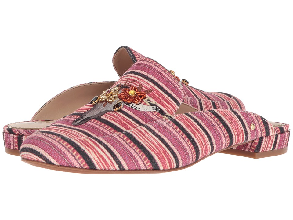 Sam Edelman - Jillian 3 (Mulberry Multi Mayan Stripe Print Fabric) Womens Shoes