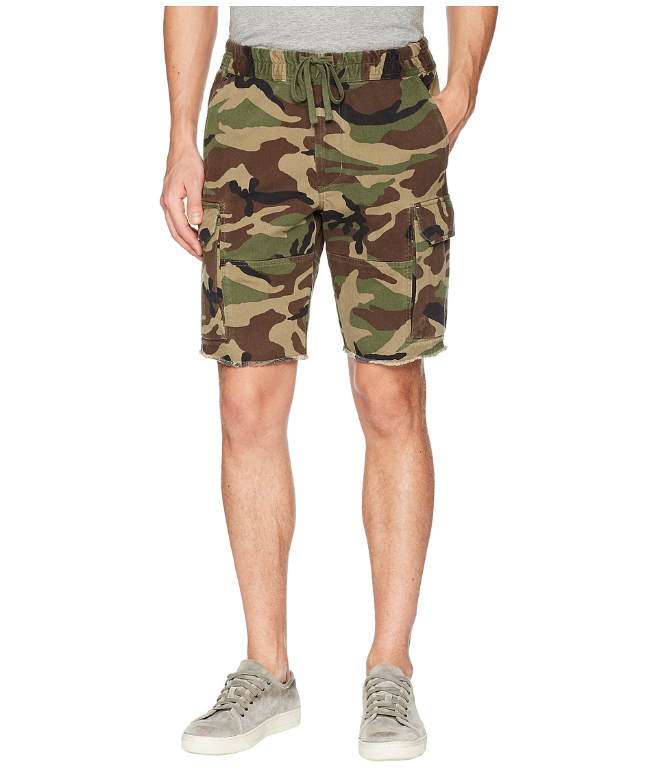 Vince Cargo Shorts (Camouflage) Men's Shorts