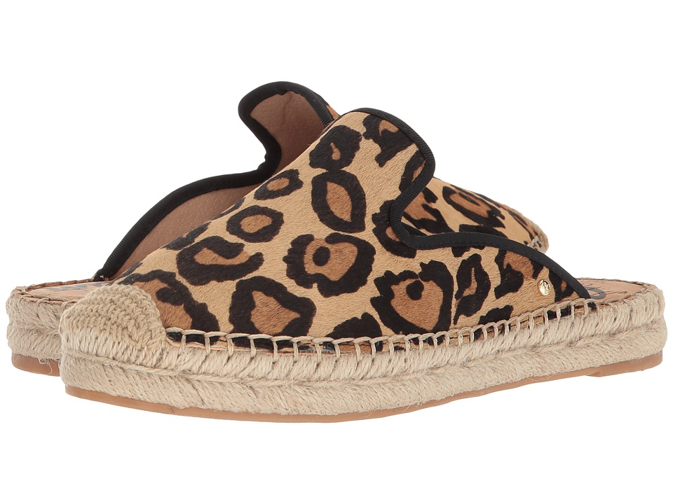 Sam Edelman Kerry (New Nude Leopard Brahma Hair) Flats