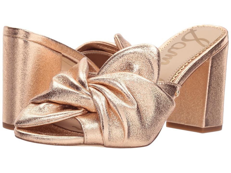 Sam Edelman - Oda (Blush Gold Piave Metallic) High Heels