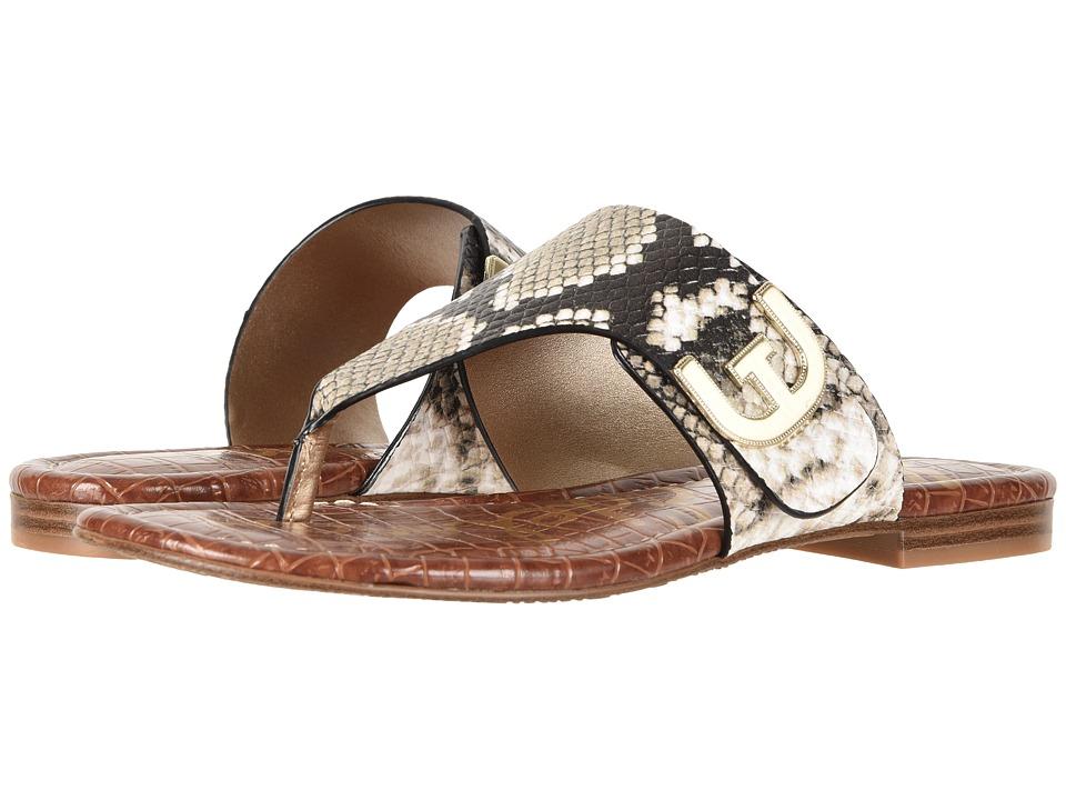 Sam Edelman - Barry (Natural Royal Snake Print Leather) Women's Sandals