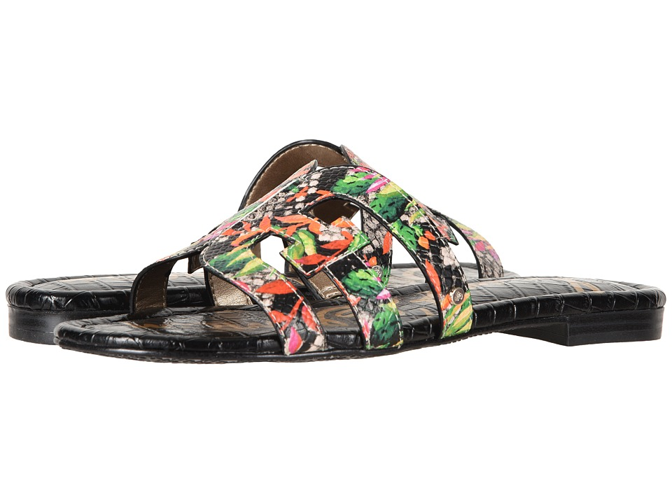 Sam Edelman Bay (Bright Multi Blooming Cactus Shiny Burmese) Slides