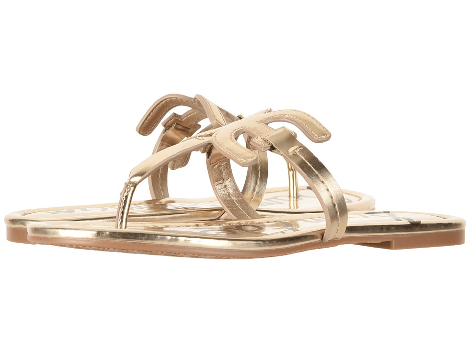 Sam Edelman Carter (Molten Gold Liquid Metallic) Sandals