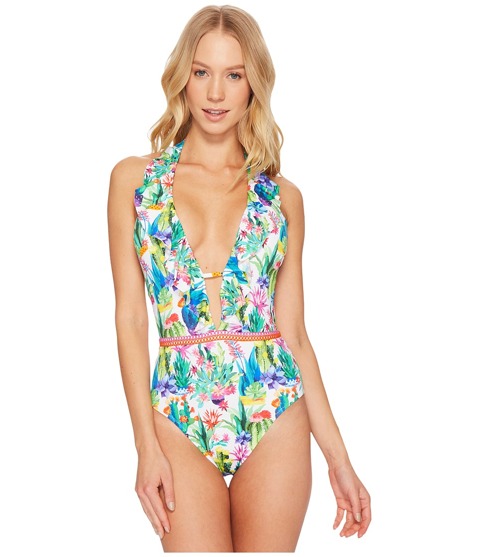 Nanette Lepore - Cactus Goddess One-Piece Swimsuit