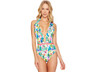 Nanette Lepore Cactus Goddess One-Piece Swimsuit