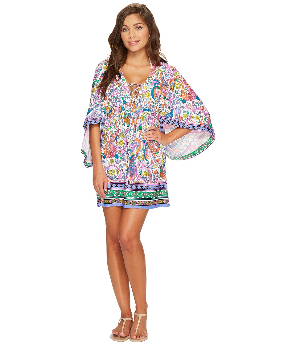 Trina Turk Jungle Beach Tunic Cover-Up TT8BS53-960