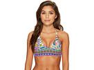Trina Turk Jungle Beach Crop Tri Bikini Top