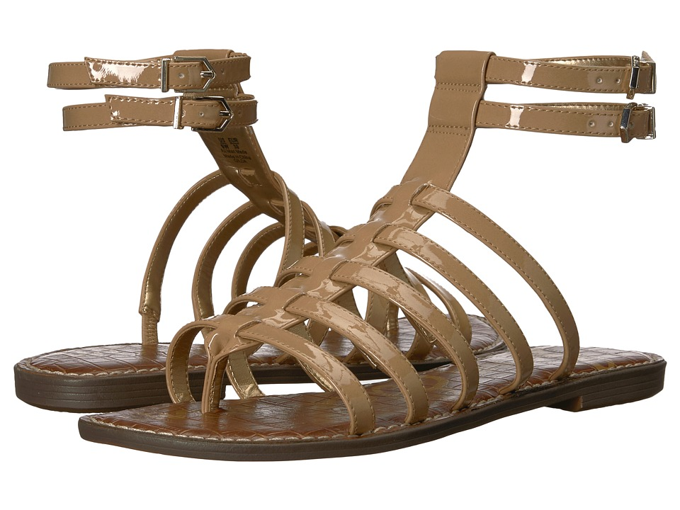 Sam Edelman - Gilda (Almond Patent) Womens Sandals