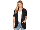 B Collection by Bobeau B Collection by Bobeau Finley Rouched Cardigan with Tassel Trim