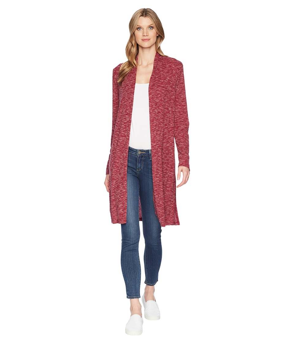 B Collection by Bobeau - Jay Knit Duster (Beet) Women's C...
