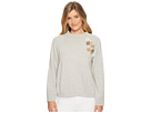 B Collection by Bobeau Winnie Pullover with Trim