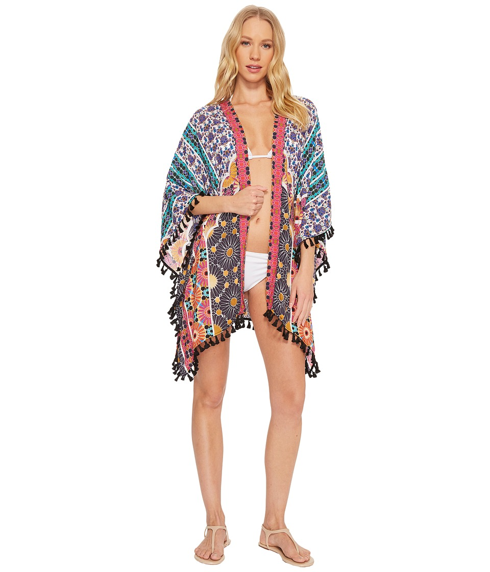 Trina Turk Golden Medallion Kimono Cover-Up TT8BM27-960