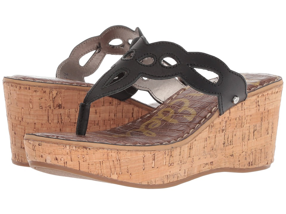 Sam Edelman - Ralphie (Black Atanado Leather) Womens Shoes