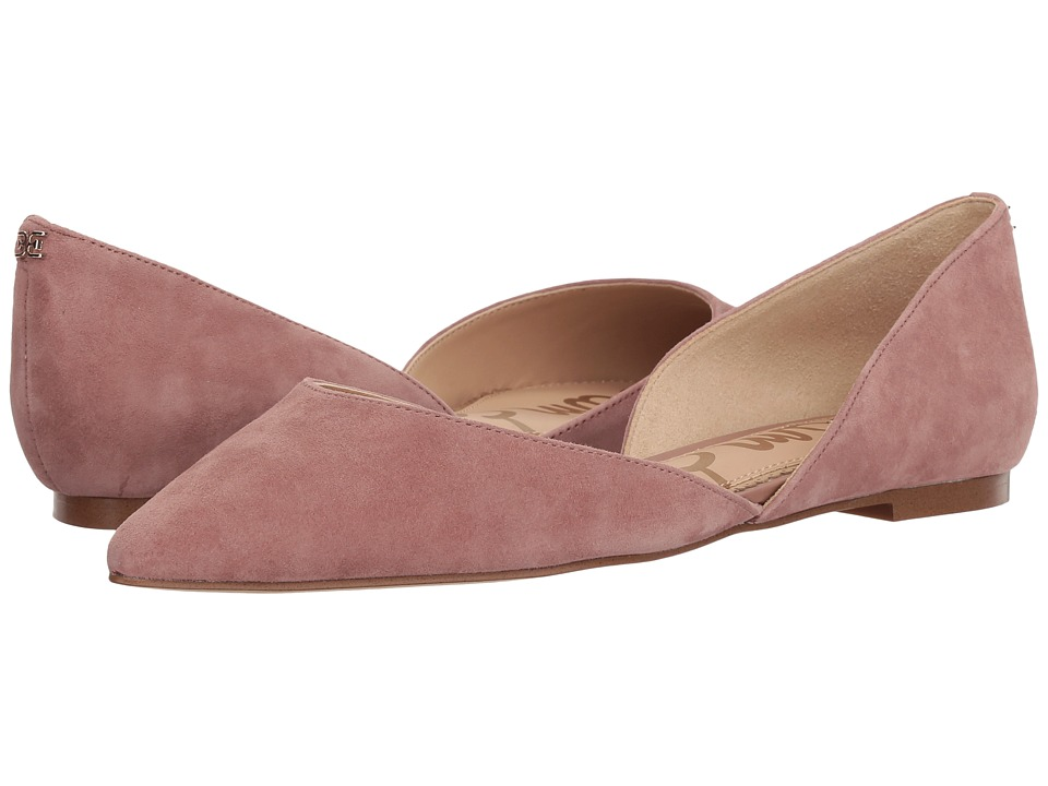 Sam Edelman Rodney (Dusty Rose Kid Suede Leather) Women's Shoes
