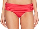LAUREN Ralph Lauren LAUREN Ralph Lauren - Beach Club Solids Wide Shirred Banded Hipster Bottom