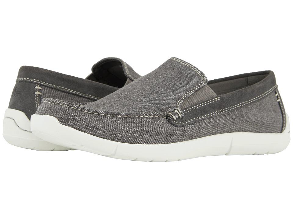Dockers - Ashland 360 Moc Toe Loafer (Grey Denim) Mens Shoes