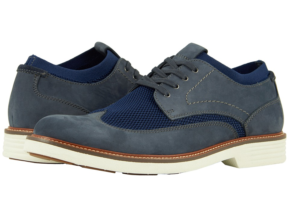 Dockers - Paigeland (Navy Knit/Nubuck) Mens Shoes
