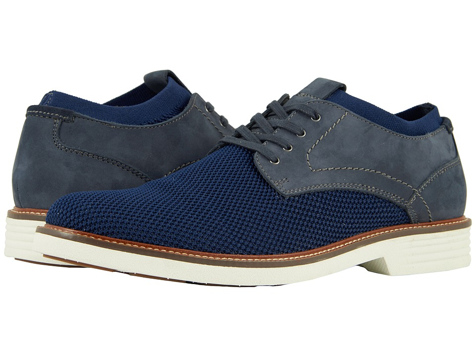 Dockers Privett (Navy Knit/Nubuck) Men