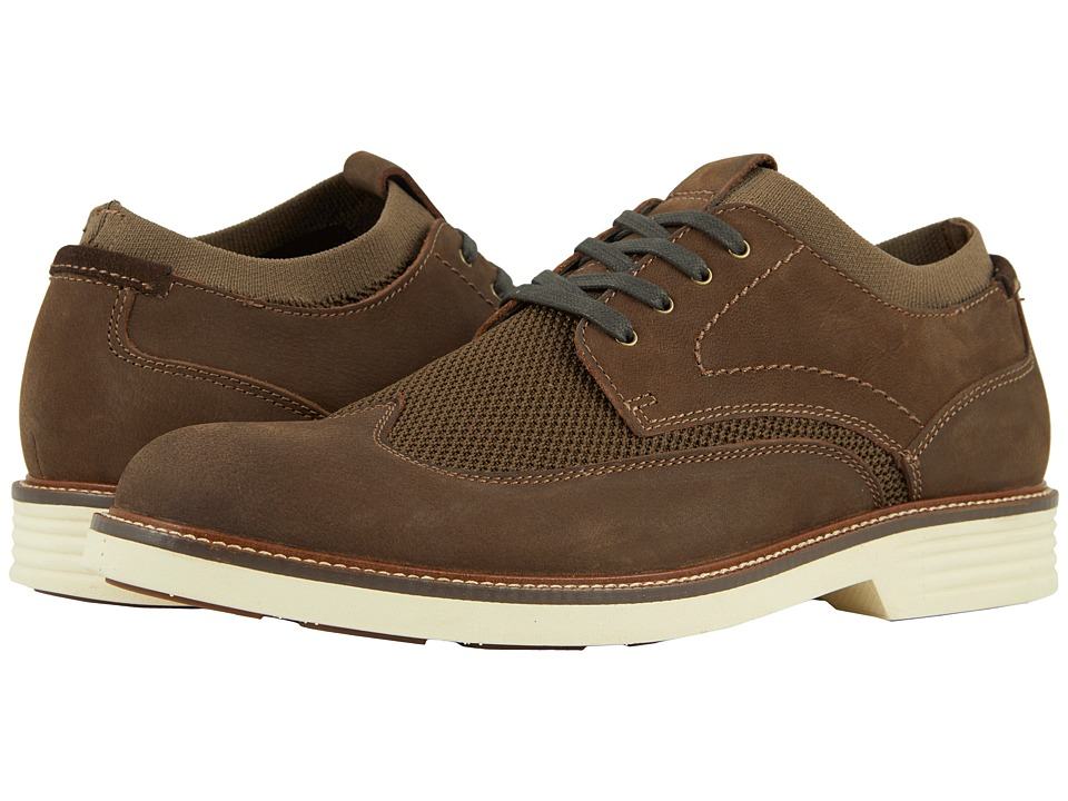 Dockers Paigeland (Dark Brown Knit/Nubuck) Men