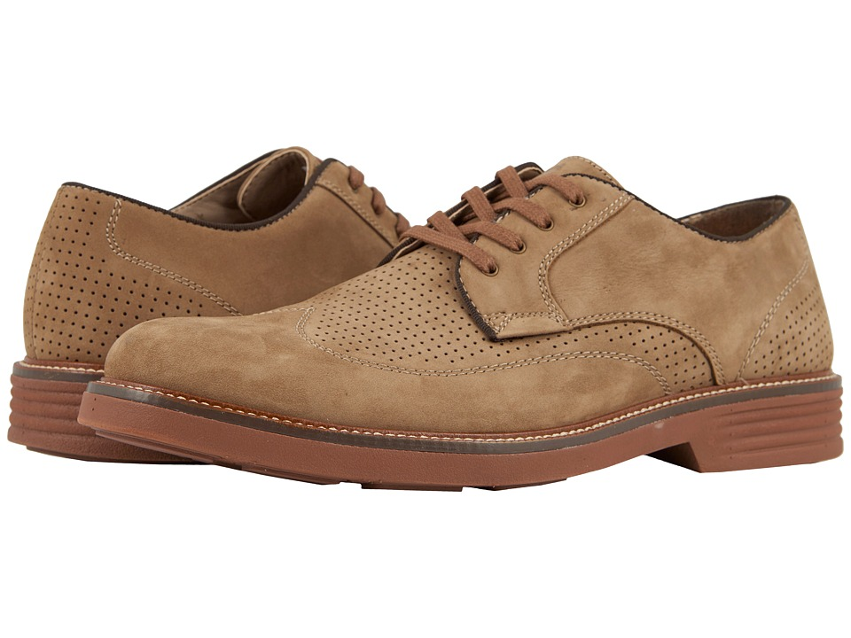 Dockers Monticello Wingtip Oxford (Dirty Buck Nubuck) Men