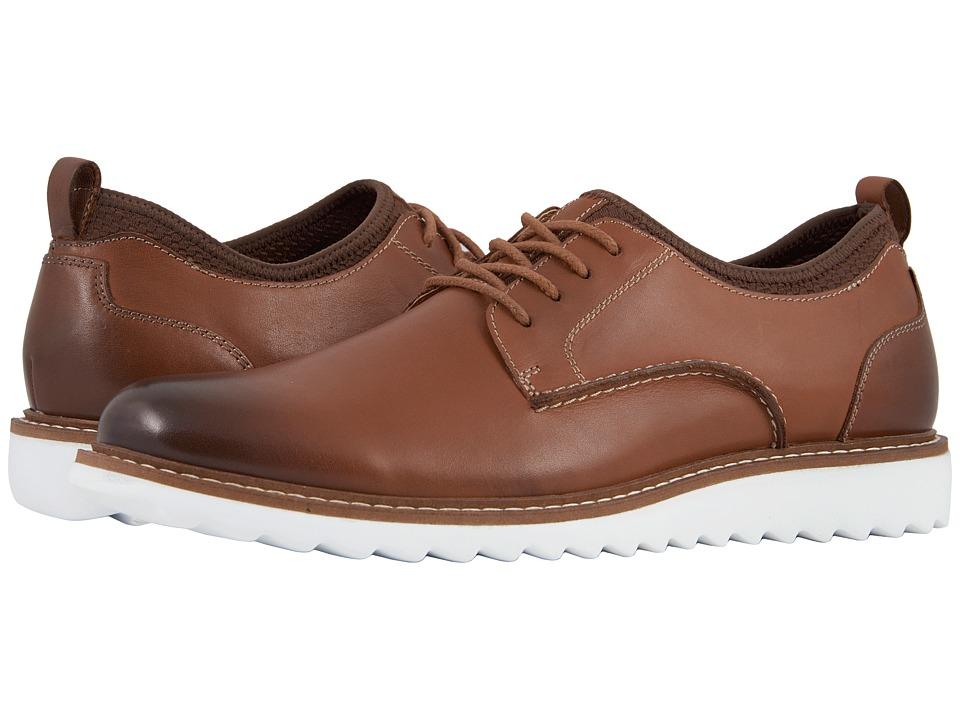 G.H. Bass & Co. Dirty Buck 2.0 Plain Toe Leather (Tan Burnished Full Grain) Men