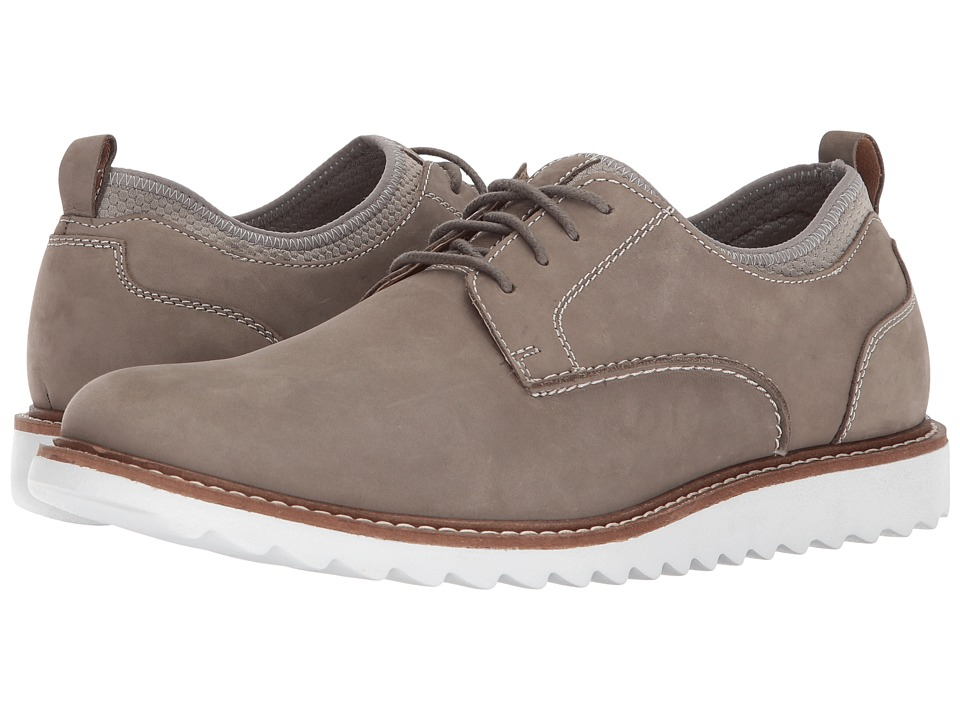 G.H. Bass & Co. Dirty Buck 2.0 Plain Toe Leather (Grey Nubuck) Men