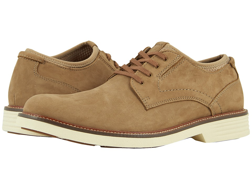 Dockers - Parnell Alpha Plain Toe Oxford (Dirty Buck Nubuck) Mens Shoes