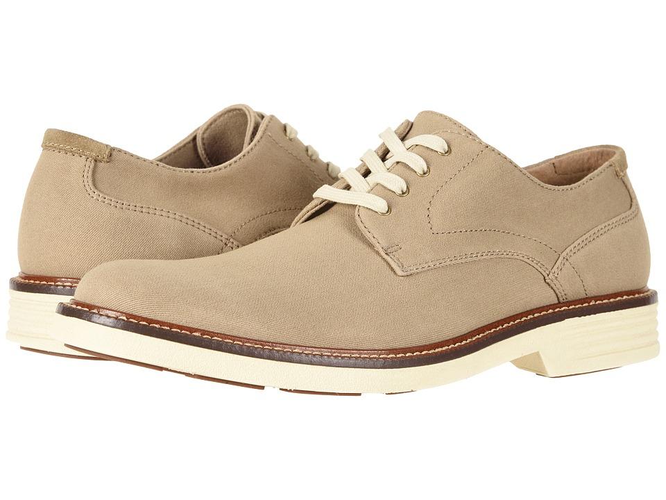Dockers - Parkway 360 Plain Toe Oxford (Khaki Twill) Mens Shoes