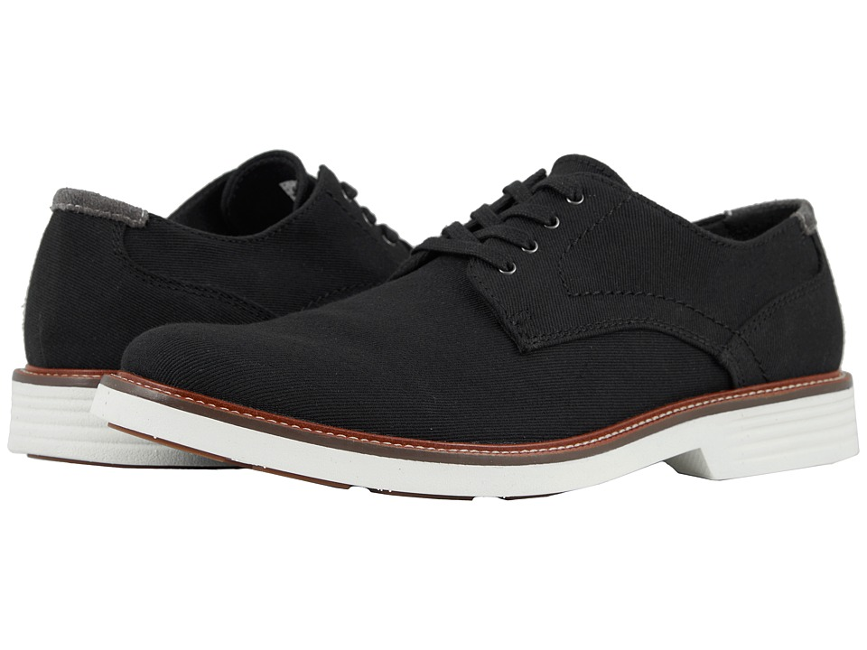 Dockers Parkway 360 Plain Toe Oxford (Black Denim) Men