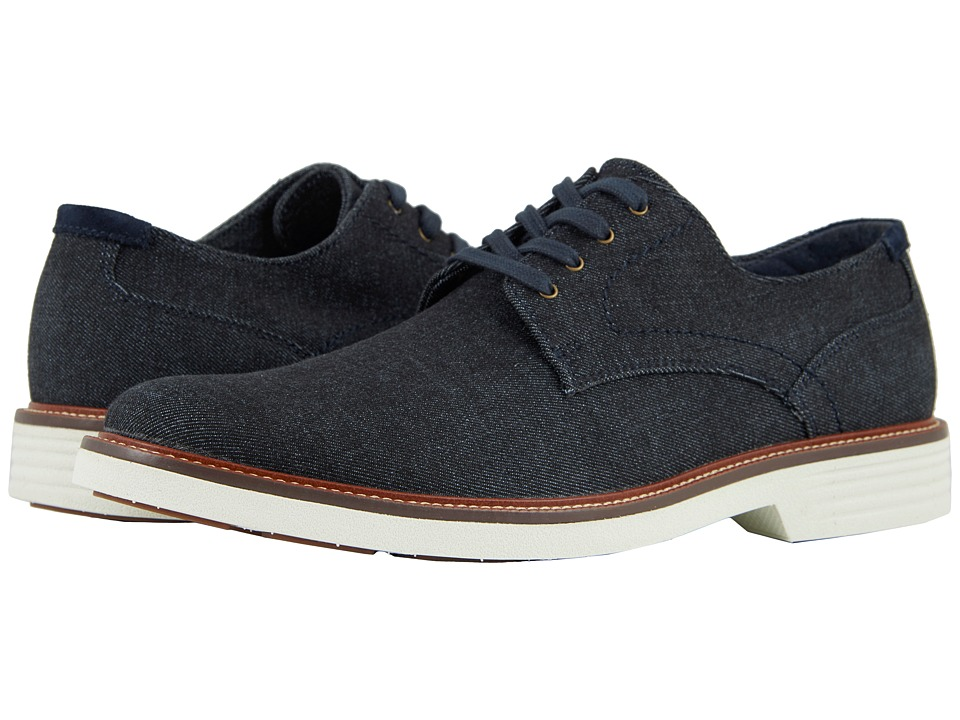 Dockers Parkway 360 Plain Toe Oxford (Dark Blue Denim) Men