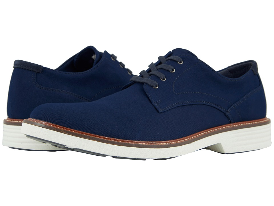 Dockers Parkway 360 Plain Toe Oxford (Navy Twill) Men