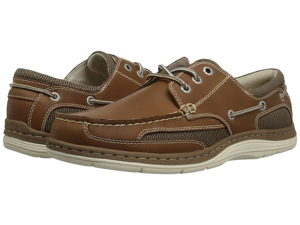 Dockers Lakeport Boat Shoe (Dark Tan Crazyhorse) Men