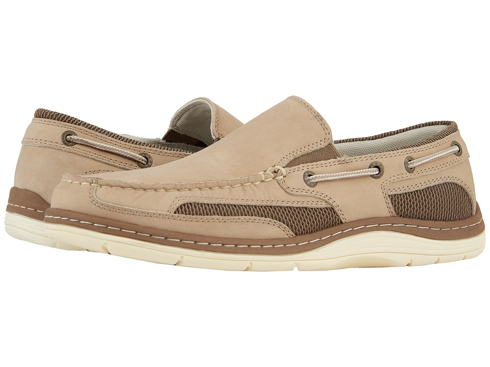 Dockers Danby Boat Shoe (Bone Crazyhorse) Men