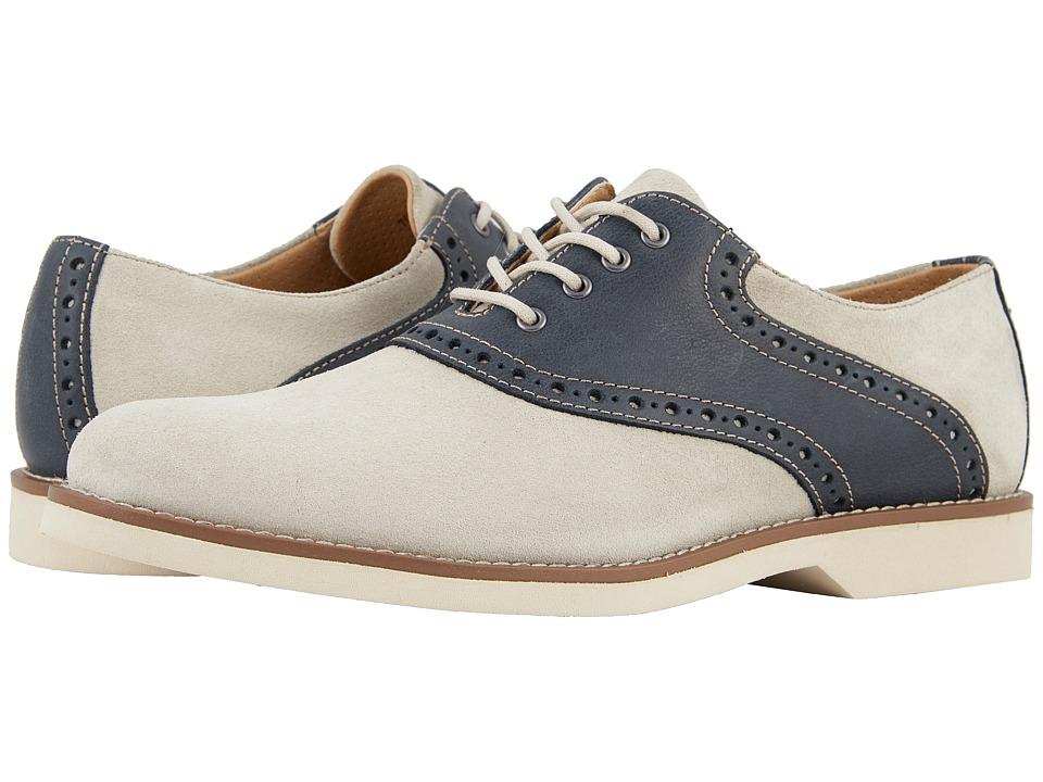 1930s Mens Fashion Guide- What Did Men Wear? G.H. Bass  Co. Parker OysterNavy SuedePull-Up Mens Shoes $109.95 AT vintagedancer.com