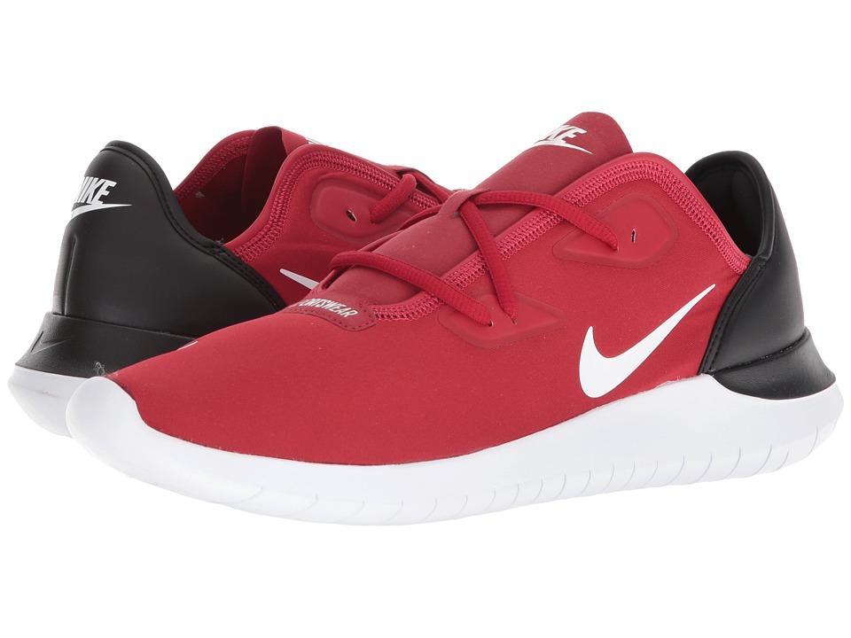 Nike Hakata (Gym Red/White/Black) Men's Running Shoes