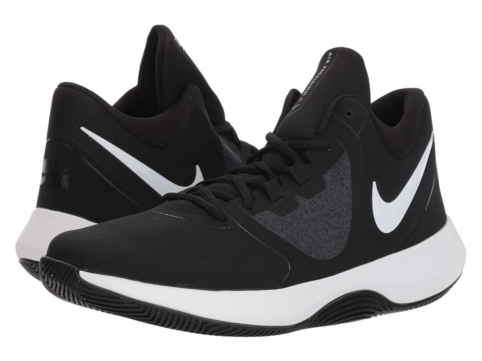 Nike - Air Precision II (Black/White 2) Mens Basketball Shoes