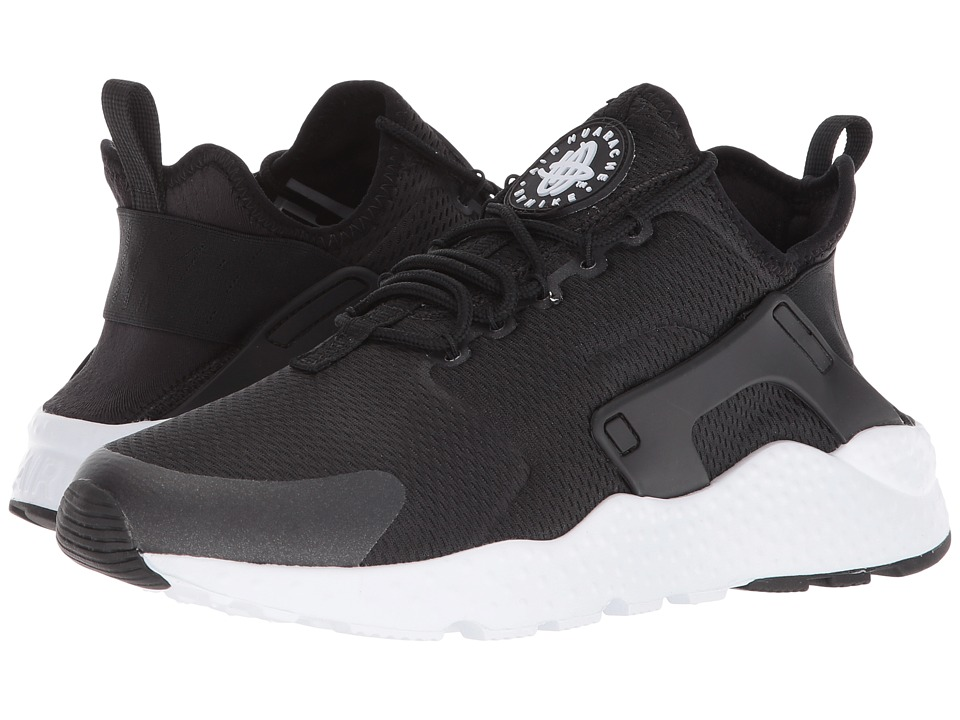 Nike Air Huarache Run Ultra (Black/Black/Black/White) Women's Running Shoes