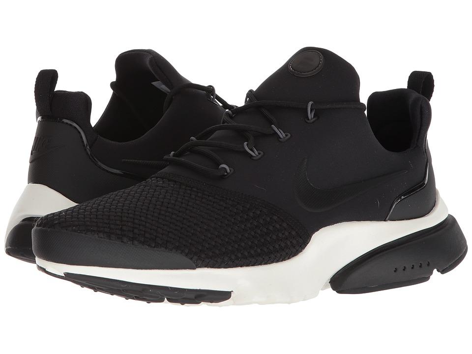 Nike - Presto Fly Ultra SE (Black/Black/Dark Grey/Sail) Mens Shoes