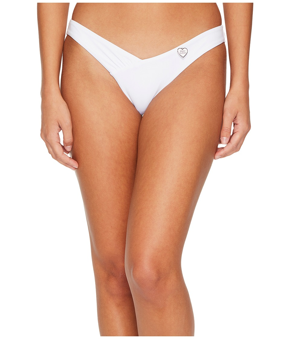 Body Glove - Smoothies Coco Bottoms (White) Womens Swimwear