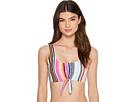Kenneth Cole Over The Rainbow OTS Crop Bikini Top