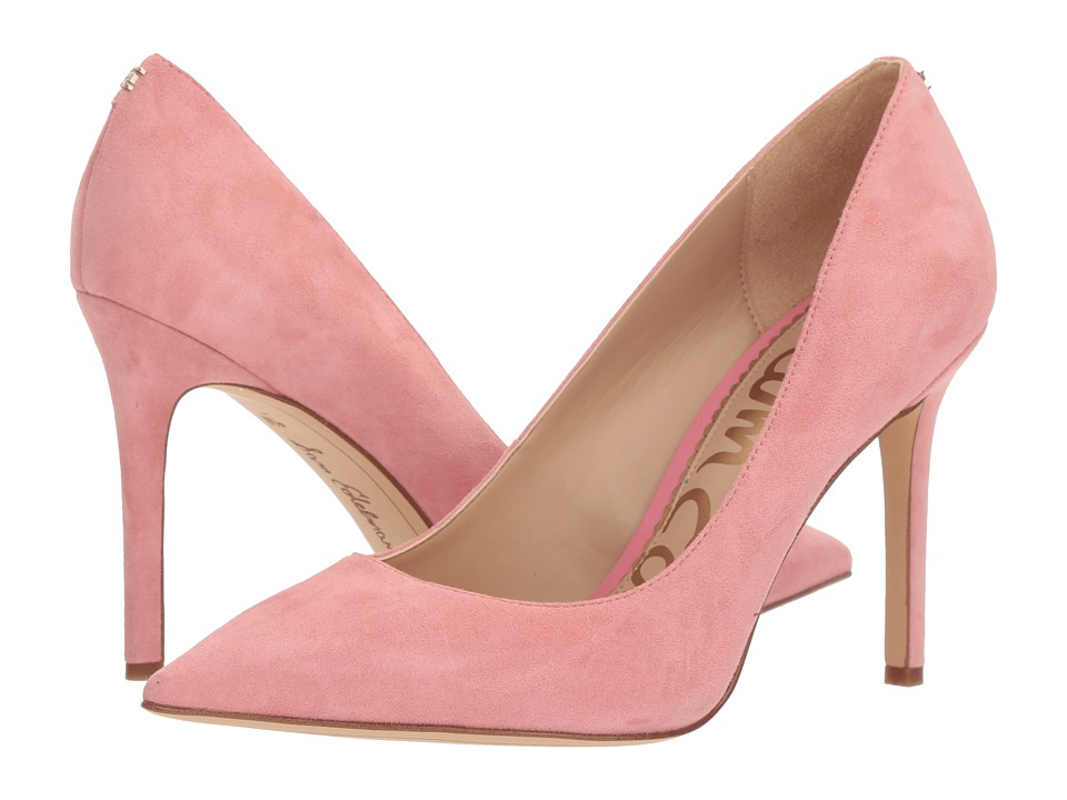 Sam Edelman Hazel (Pink Lemonade Kid Suede Leather) Women's Shoes