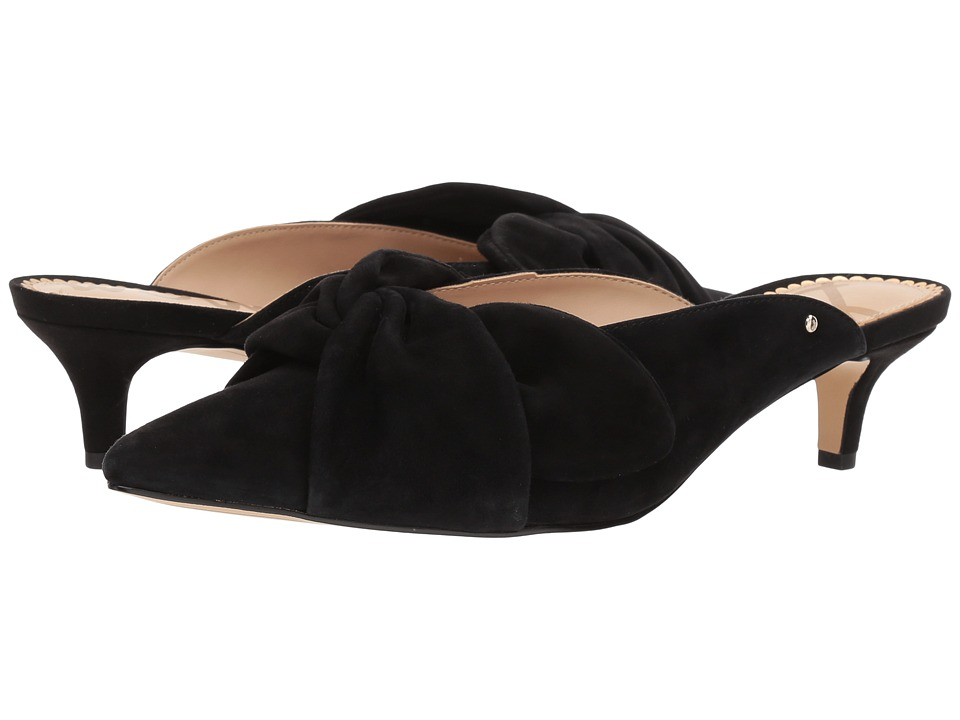 Sam Edelman - Laney (Black Kid Suede Leather) Womens Shoes